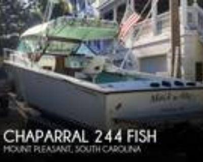 24 foot Chaparral 244 Fish