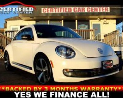 2012 Volkswagen Beetle Turbo DSG
