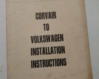 Corvair to VW pamphlet