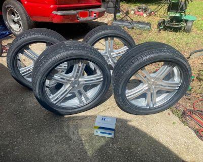 Brand New Ironman Tires 225/40/ZR18 92W XL & brand new 4 Touren Rims 18 x 7.5