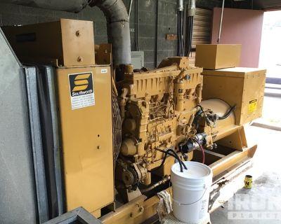 Cat 3306B 375 kVA Skid-Mounted Gen Set