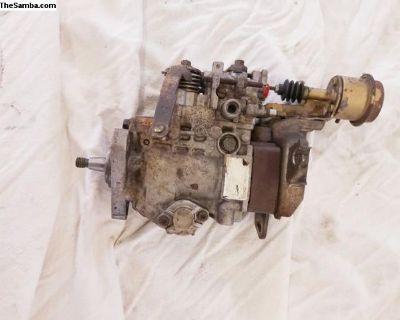 VW T3 Vanagon 1.6TD Fuel Injection Pump. JX Low KM