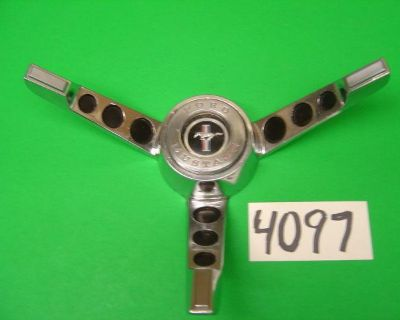 Mustang Oem Horn Ring Fits 65 66 #4097 - All Body Styles