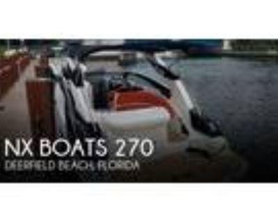 27 foot NX Boats 270 Bowrider