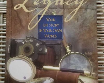 A Father Legacy - Your Life Story in Your Own Words HC Notebook Excellent Condition