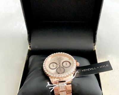 Kendall + Kylie Womens (Rose color) Strap Watch