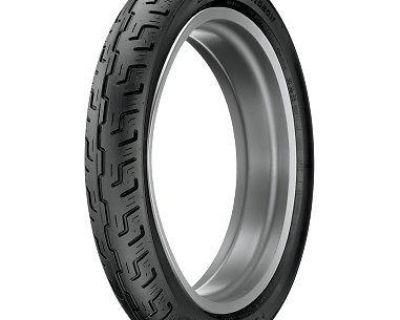 Harley Davidson Series Dunlop D401 90/90-19, 52 H, Black, Front Tire