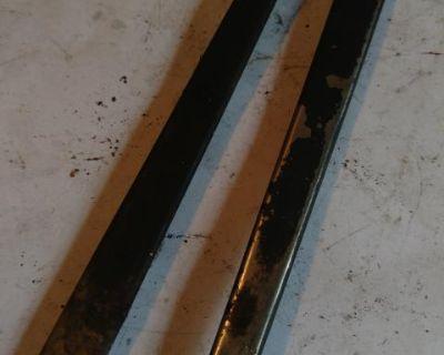 Trim inserts for door handles