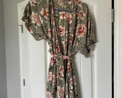 Dynamite wrap dress