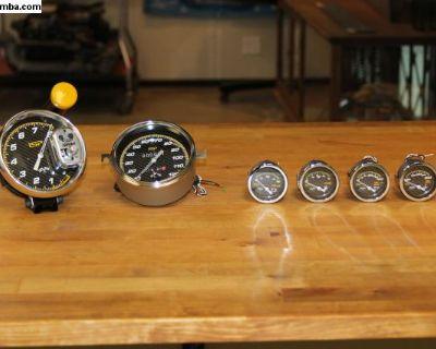 ISP Carbon Race Gauges Speedometer Tachometer