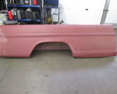 1970-1972 Ford Truck Nos 8 Ft Right Hand Complete Bed Side F100 F250 1967-1969