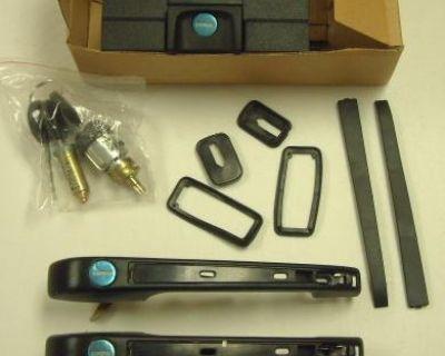 Vw Jetta Lock Set Key Door Handle Trunk 83-92