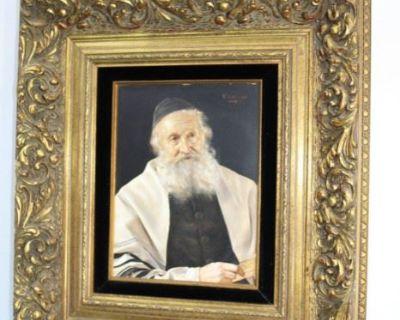 S&J Online Auction: Furniture, Inkwells, Art, Primitives, Crystal & Much More