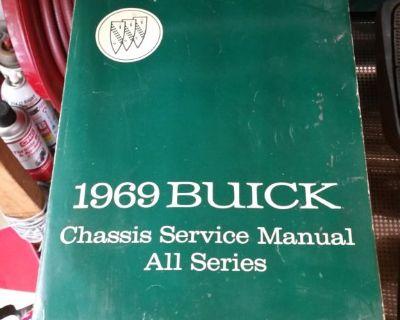 Original 1969 Buick Chassis Service Manual.