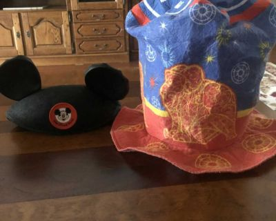 Mickey ears and circus hat