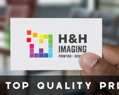 Printing Company San Francisco | H&HImaging