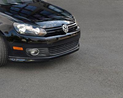 Volkswagen Golf Mk6 2010 To 2013 Front Valance
