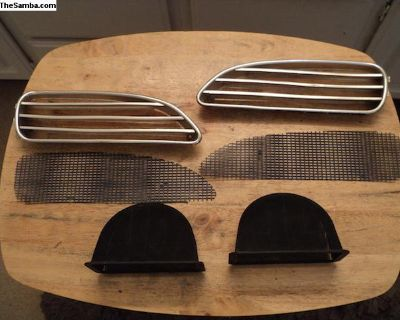 Ghia front grills