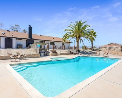 Relax, Rewine, Splash, and Repeat - Pool Home - Riverside County