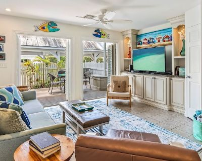 **2 COOL FISH @ THE ANNEX** Chic Villa + Pool + LAST KEY SERVICES - Old Town Key West