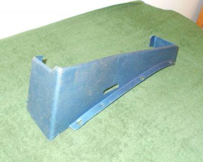 1964 1965 1966 Thunderbird Hardtop Convertible Bucket Seat Rh Lower Track Trim
