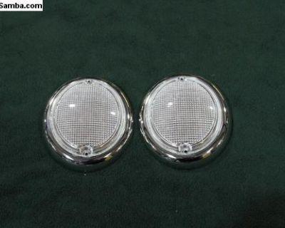 1962-1967 Bus German Front Turn Signal Lenses