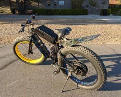 Powerful ebike fat tire electric bike 50 mile range and 28 mph Sonders