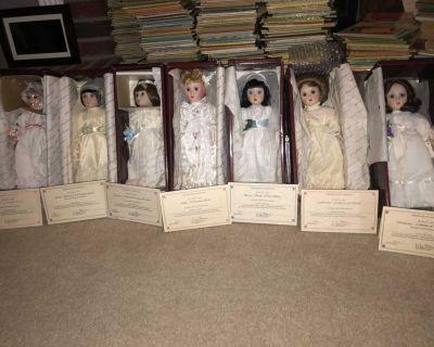Brides of America dolls