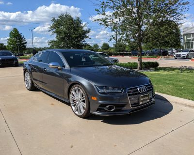 2018 Audi S7 Prestige with all options (last of the 4.0 V8 Twin Turbo) CERTIFIED
