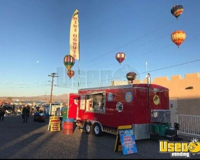 Turnkey 2014 Haulmark Permitted Fun Foods, Donuts and Beverage Concession Trailer