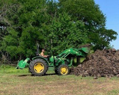 John Deere 5045E OOS MFWD Utility tractor     $29,500
