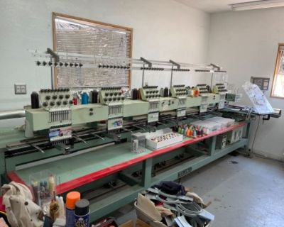 Grasons Co Premier - Embroidery Machines/Tools/Vintage/Pickers Estate Sale in W. Lancaster