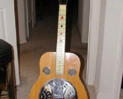 $1,500 The ShoBro, a resonated guitar