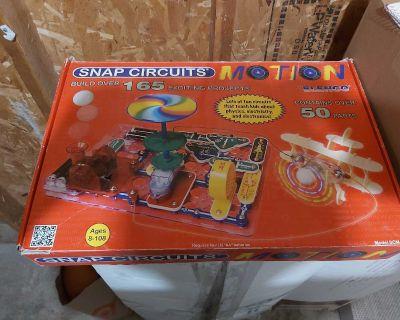 New snap circuits motion