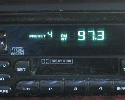 97-00 Chrysler Town & Country Cassette Cd Radio Oem