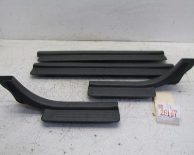 98 99 Isuzu Rodeo Left Right Rear Front Door Foot Sill Panel Trim Molding Set