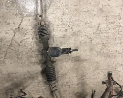 complete swb early steering tack & tie rods