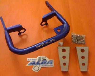 Yamaha Yfz 450 Grab Bar Rear Bumper Alba Racing Blue 199-t5-l4