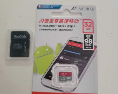 Sandisk sd card 32gb or 16gb