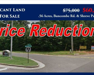 .56 Acres Buncombe Rd & ShrevePark Drive