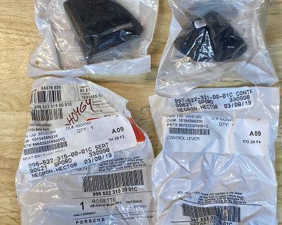 997 Rear folding seat latch release handle and bezel. BNIB