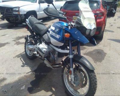 Salvage Blue 2002 Bmw R1150