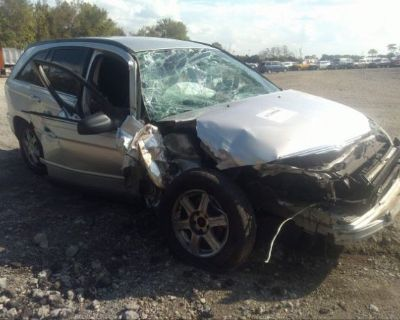 Salvage Silver 2004 Chrysler Pacifica
