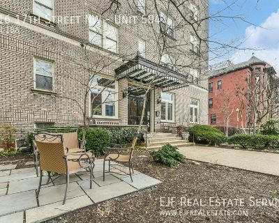 Sun Drenched Top Floor Dupont Circle One Bedroom One Bath Apartment With Washer/Dryer In Unit & More!
