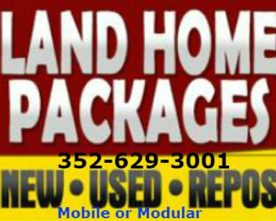 Orlando mobile homes all sizes. Easy land and home packages!