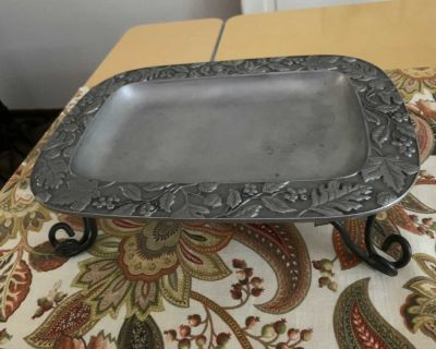 Longaberger Serving Tray W/Stand