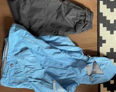 Women s size small westskins set - shell jacket and pants