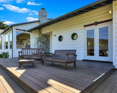The Enchanted Ocean View Bluff House Is So Very Special, You Won't Want To Leave - Montara