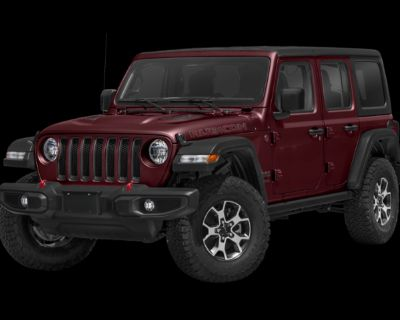 New 2021 Jeep Wrangler Unlimited Rubicon 4WD Convertible