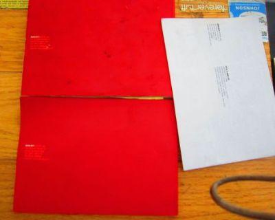 Ducati Oem 748 916 Owners Manual /supplement
